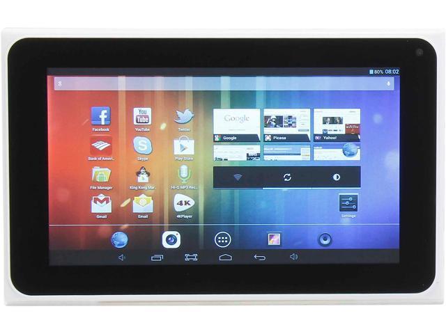 iView CyberPad iView-788TPC Quad Core 1GB Memory 8GB 7.0