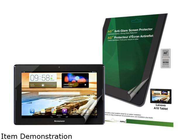 Green Onions supply AG+ Anti-Glare Screen Protector for Lenovo A10 Tablet RT-SPLA1002HD