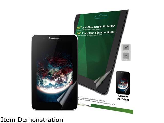Green Onions supply AG+ Anti-Glare Screen Protector for Lenovo A8 Tablet RT-SPLA802HD