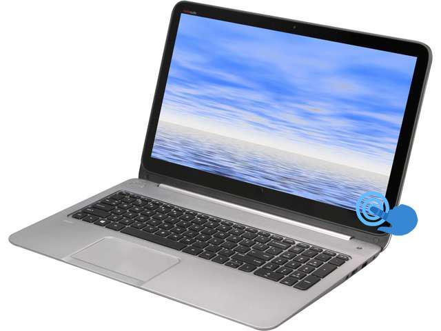 "HP Envy TouchSmart Sleekbook 15.6"" Notebook i5-4200U 1.60GHz (2.60 GHz Turbo), 8GB RAM, 750GB HDD [HP Debranded]"