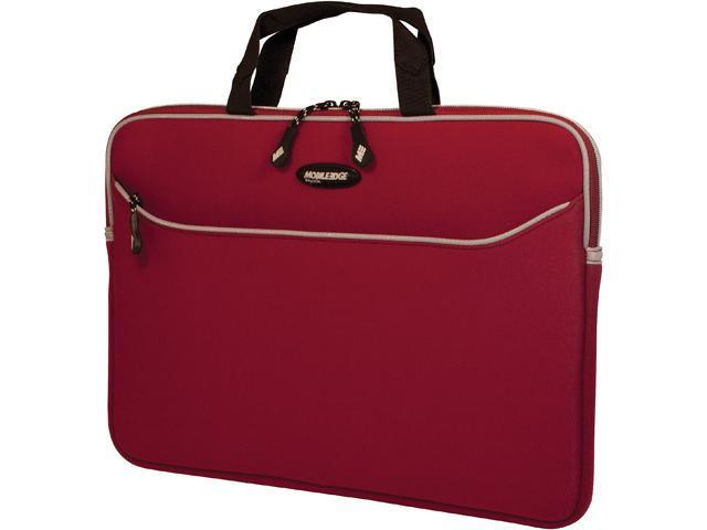 Mobile Edge SlipSuit MESS7-173 Carrying Case (Sleeve) for 17.3' Notebook - Red, Platinum