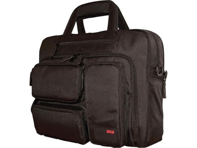 """Mobile Edge - Corporate Briefcase 16""""/17"""" Mac - Black"""