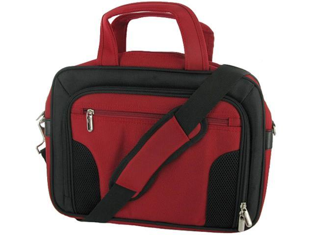 rooCASE Red Deluxe Carrying Bag for 10