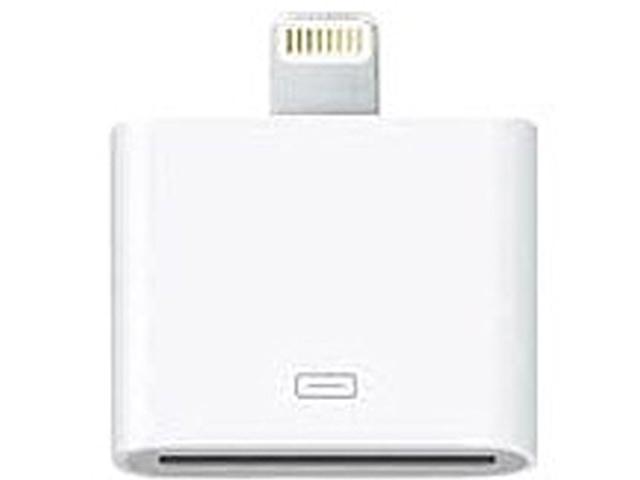 4xem 8 Pin to 30 Pin Lightning Adapter for iPhone 5, iPod Touch, iPod Nano, iPad Mini Model 4XIPHONE5ADAPT