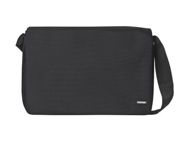 Cocoon Black Messenger Bag for 16