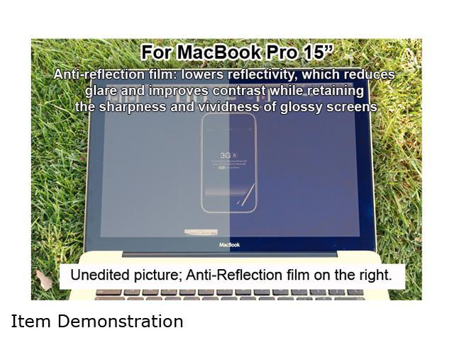 Green Onions supply Anti-Reflection Screen Protector for the 15-inch MacBook Pro SPMBP1504