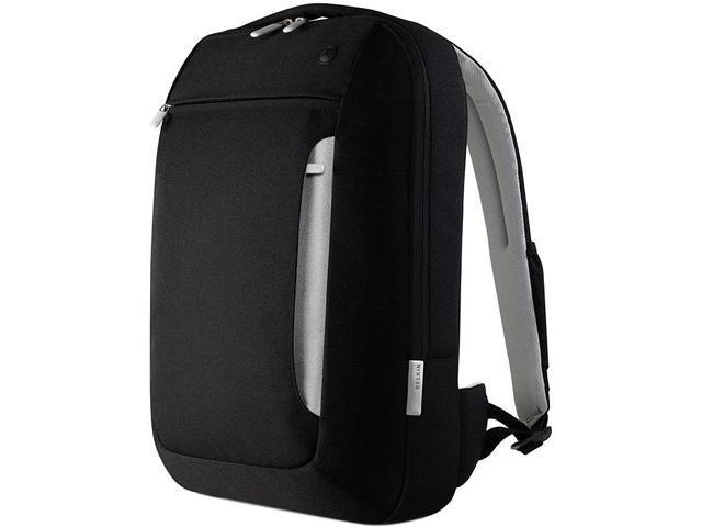 """BELKIN Black/Light Gray 15.4"""" Slim Backpack Model F8N057-KLG"""