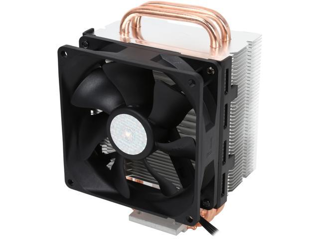 Cooler Master Hyper T2 - Compact CPU Cooler with Dual Looped Direct Contact Heatpipes
