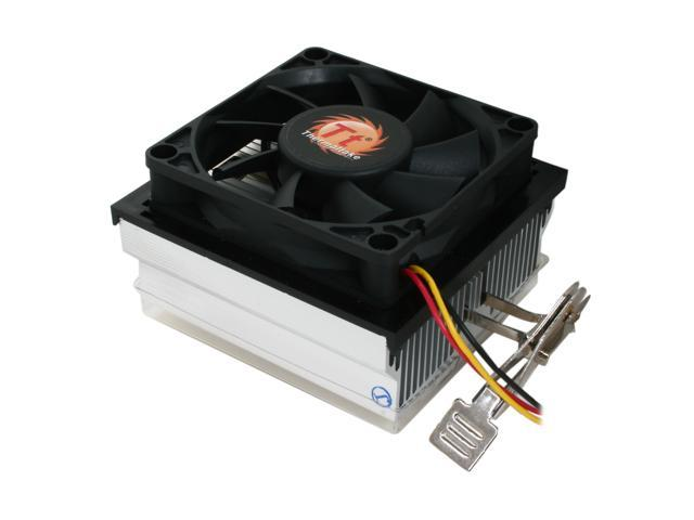 Thermaltake CL-P0503 80mm Rifle Bearing CPU Cooler for AMD 65W Series
