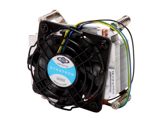 Dynatron G555 77mm 2 Ball CPU Cooler for Socket 1366 Server