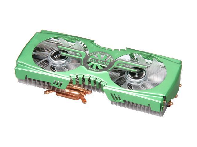 ZALMAN VF3000F(GTX580/570) EBR Bearing Dual 92mm Fans, FanMate 2, IHD Technology for Nvidia Fermi GTX580/570 VGA Cooler