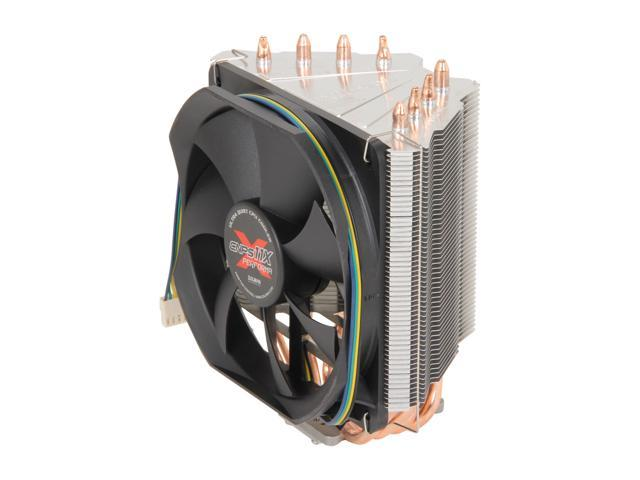 ZALMAN CNPS11X Performa 120mm Long Life Bearing V-Shaped Dual Heat Sink CPU Cooler