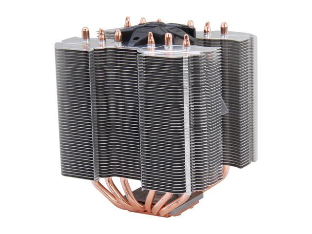 Zalman CNPS14X Pure Aluminum High Performance 140mm Fan Ultra Quiet Interactive Heatpipe Transfer Design CPU Cooler