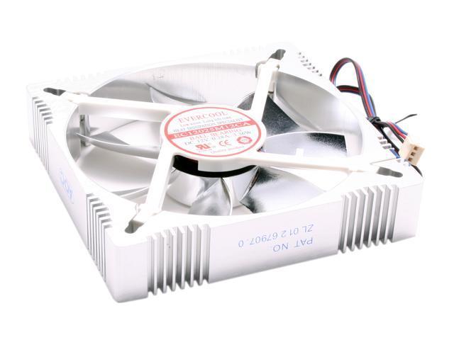 EVERCOOL FAN-AL12025B 120mm Aluminum Case Cooling Fan
