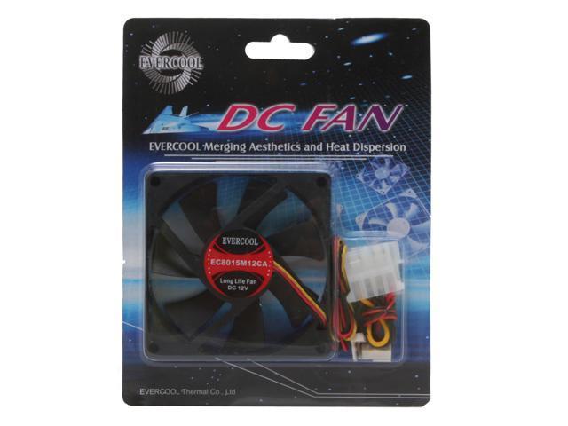 EVERCOOL FAN-EC8015M12CA 80mm Case Cooling Fan