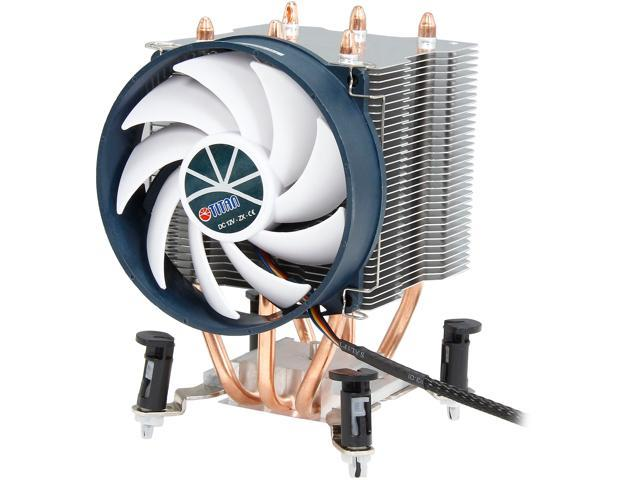 EVERCOOL TTC-NK35TZ/RPW/V5(KU) 95mm PWM Z-AXIS Titan Universal CPU Cooler