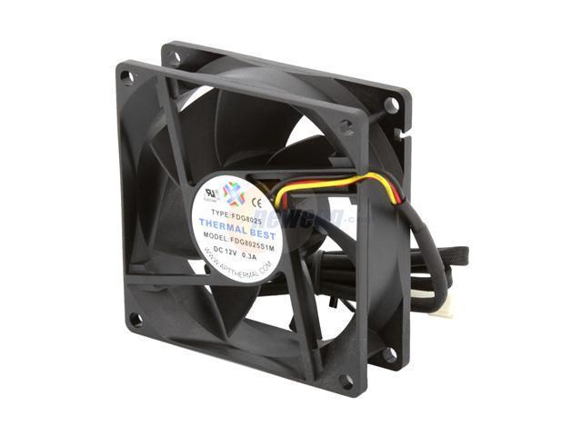 MASSCOOL FD08025S1M4 80mm Case Cooling Fan