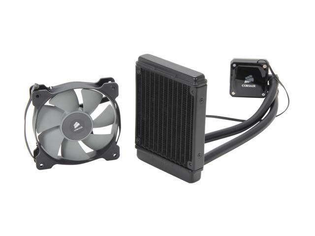 CORSAIR Hydro Series H60 (CW-9060007-WW) High Performance Water / Liquid CPU Cooler. 120mm