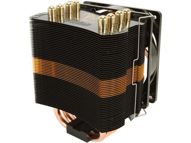 Titan TTC-NK85TZ/CS2 120mm Z-AXIS Heat Pipe Low Profile CPU Cooler