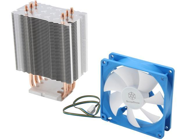 SilverStone Argon Series AR02 CPU Cooler with 92mm Fan for socket LGA775/1155/1156/1366/2011, AM2/AM3/FM1/FM2