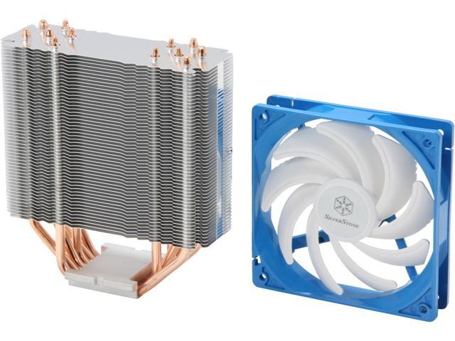 SilverStone Argon Series AR03 CPU Cooler with 120mm Fan for socket LGA775/1155/1156/1366/2011, AM2/AM3/FM1/FM2 (Mail In Rebate $5.0 Expires ...