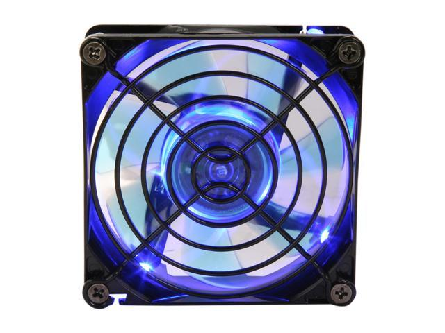 APEVIA CF8SL-BBL 80mm Blue LED Case Fan w/Grill