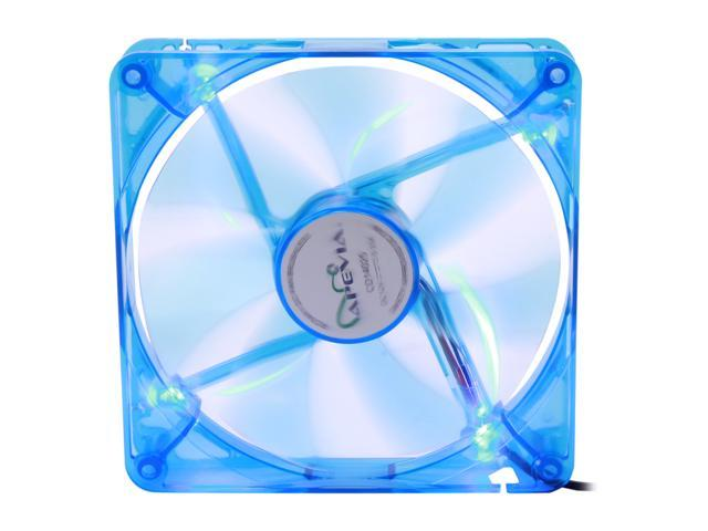APEVIA 14SL-BL 140mm UV Blue LED Fan