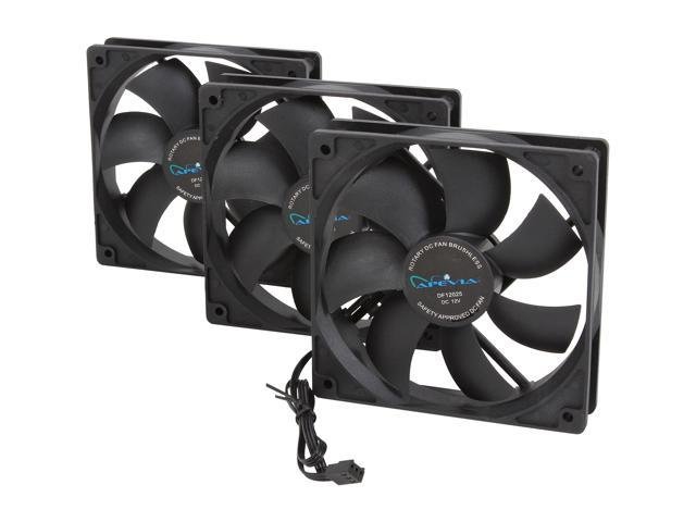 APEVIA CF312S-BK 120mm Case Fan (3-pk)