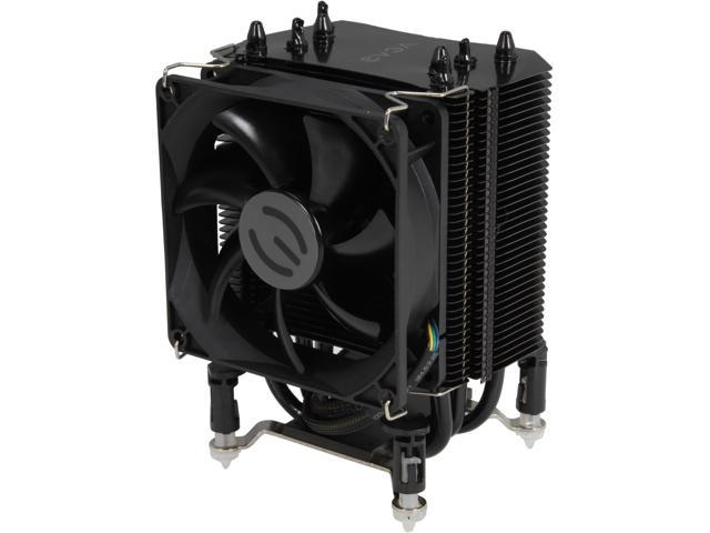 EVGA 100-FS-C901-KR 92mm Sleeve mITX ACX CPU Cooler, Direct Touch 4 Heat Pipe