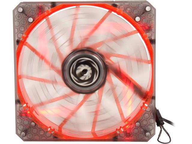 BitFenix Spectre Pro BFF-LPRO-14025R-RP 140mm Red LED Case Fan
