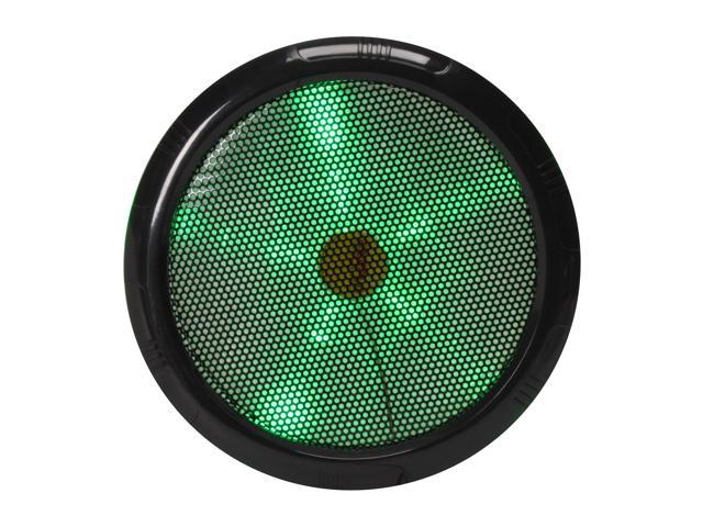 Rexus Rexflo250mm Green 250mm Green LED Silent LED FAN
