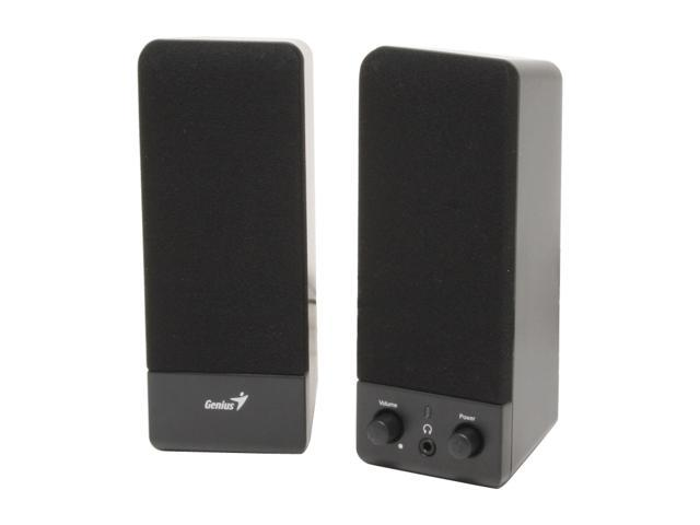 Genius SP-S110 Basic Speaker System (Black)