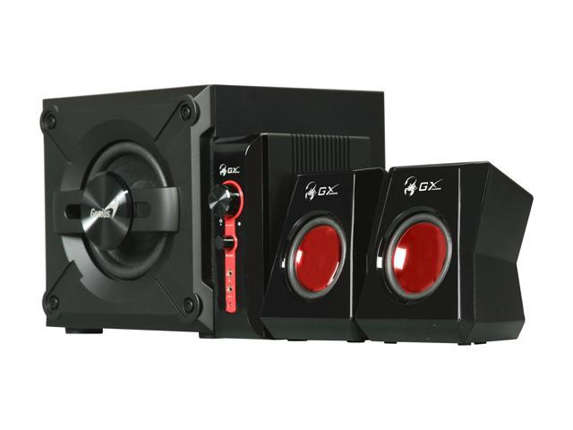 Genius GX Gaming SW-G2.1 1250 38 Watts RMS 2.1 Speaker System