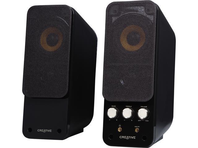 Creative GigaWorks T20 Series II 28W RMS 2.0 Multimedia Speakers