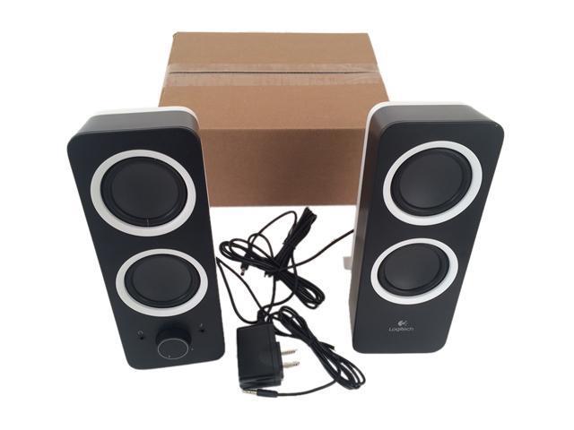 logitech certified refurbished z200 980 000800 multimedia stereo speakers for ebay. Black Bedroom Furniture Sets. Home Design Ideas