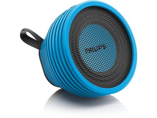 Philips SB2000A Speaker System - 5 W RMS - Wireless Speaker(s) - Blue