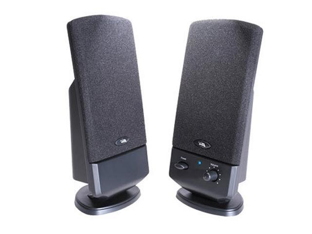 Cyber Acoustics CA-2002 2.0 2 Piece Amplified Computer Speaker System