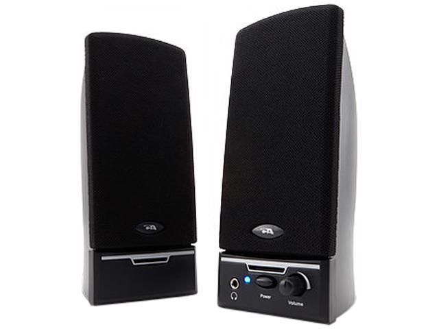 Cyber Acoustics CA-2014WB 1.5 watts 2.0 Desktop Speaker System - Black - OEM