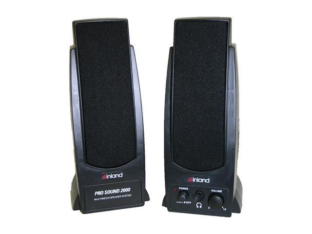 inland Home/Office Series 88034 7.2 Watts 2.0 Speaker