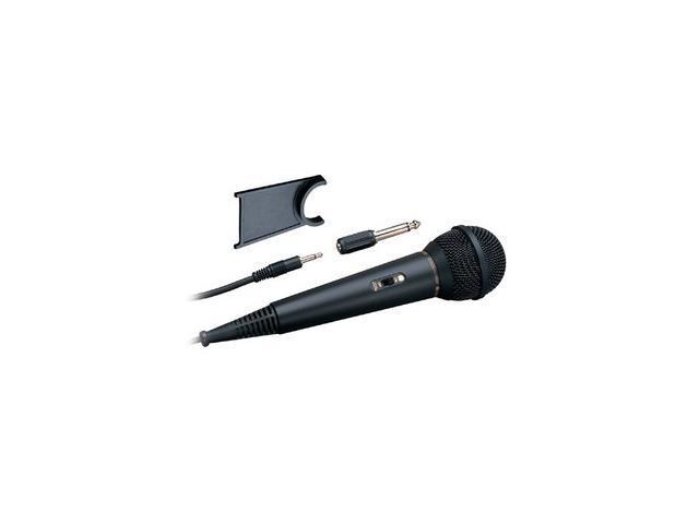 Audio-Technica ATR-1200 Black 3.5mm/ 6.3mm Connector Cardioid Vocal Microphone