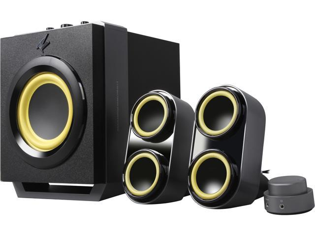 Rosewill SP-6340 2.1 Subwoofer Speaker System for Gaming, Music and Movies, 35W RMS