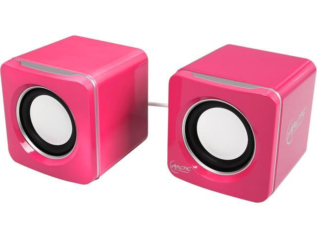 Arctic Cooling S111 USB Powered Portable Speaker-Pink