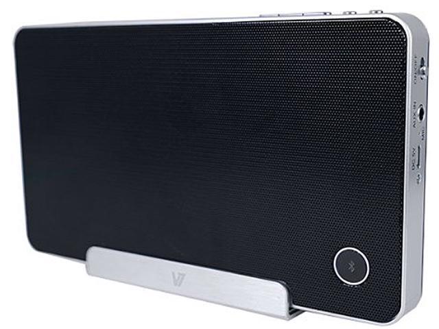V7 SP5500 Speaker System - 4 W RMS - Wireless Speaker(s) - Black