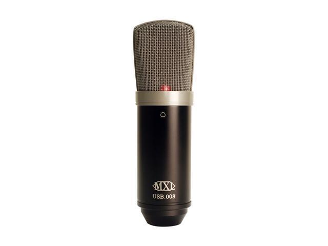 MXL MXLUSB008 Black USB Connector USB Condenser Microphone