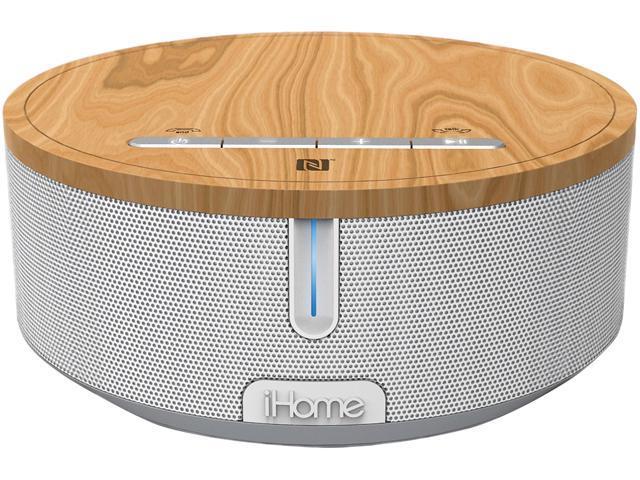 iHome iBN26 Speaker System - Wireless Speaker(s) - White