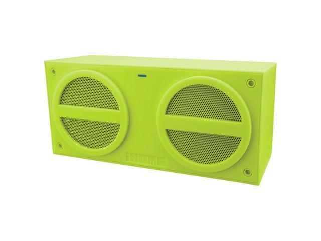 iHome iBN24 Speaker System - Wireless Speaker(s) - Green