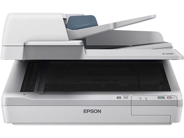 EPSON WorkForce DS-60000 (B11B204221) 16 bit CCD 600 dpi Duplex Document Scanner