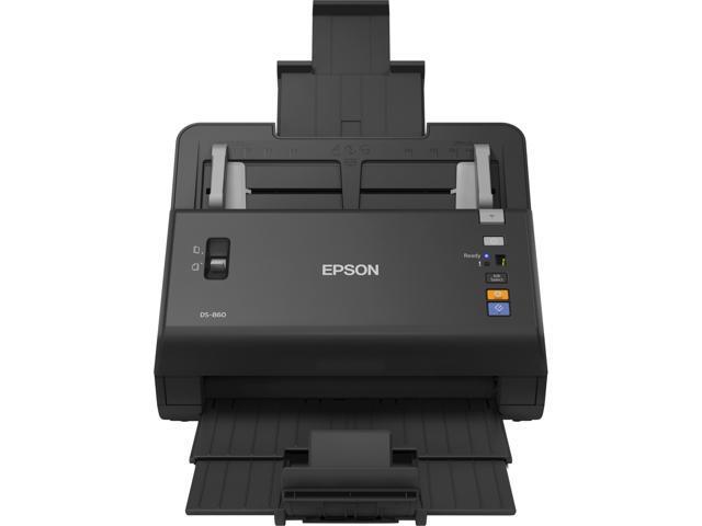 EPSON WorkForce DS-860 R 48 bit CIS 600 x 600 dpi Duplex Document Scanner