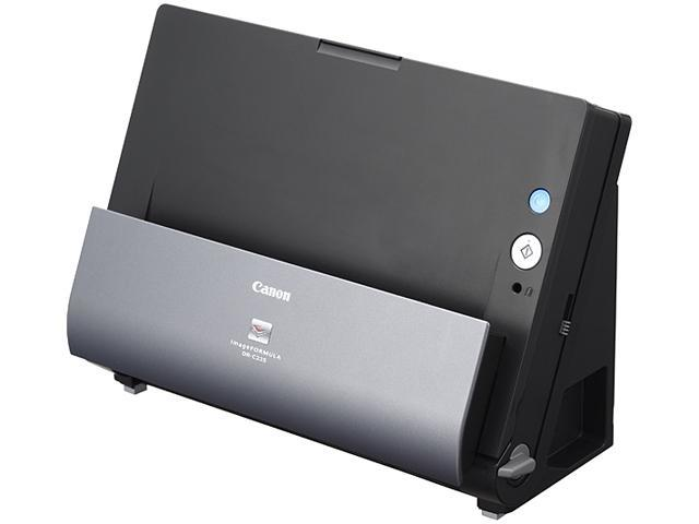 Canon DR-C225 (9706B002) Grayscale: 8-bit Color: 24-bit CIS 600 dpi Office Document Scanner Document Scanner