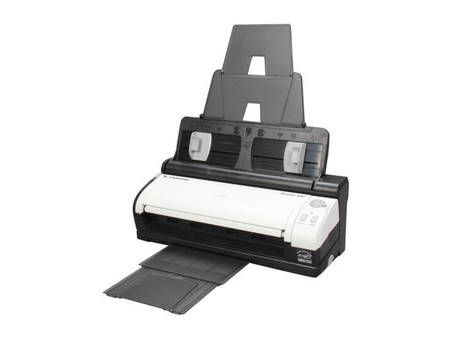 Visioneer Strobe 500 Mobile Duplex Color Scanner Plus Docking Station With Automatic Document Feeder 24 bit 600 dpi